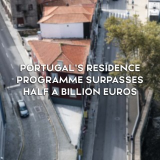 Return from Portugal's Residence Programme Surpasses Half a Billion Euros in the first 8 months of 2019