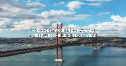 10 biggest RCBI programmes raised US$10 Billion last year